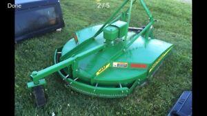 John Deere mx5 brush mower