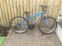 ALUMINIUM FRAMED MOUNTAIN BIKE FOR SALE.