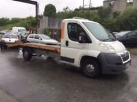 2009 Citroen Relay Recovery Truck 2.2 diesel 6 speed, starts and drives very well, MOT until March 2