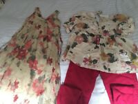 Mamas and Papas 2 x Maternity Outfits size 12-14