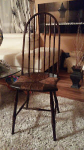 VERY NICE ANTIQUE BAMBOO CHAIR