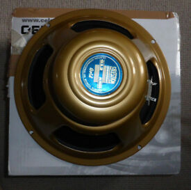 "CELESTION GOLD 12"" 15 OHM ALNICO SPEAKER."
