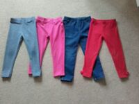 Girl's trousers aged 3 - 4 years