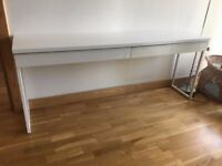 Ikea computer /hallway desk Besta burs longer 180cm Stratford Hackney Bow Mile End Leyton