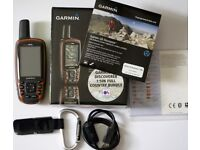 Garmin GPSMAP 64s Discoverer Bundle with Complete GB Map 1:50K