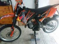 2009 KTM SX 85 BIG WHEEL ALL THE TRICK PART'S(WOULD ALSO SWAP FOR SOMETHING DIFFERENT?)