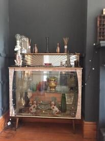 Cocktail cabinet mid century 50s 60s retro