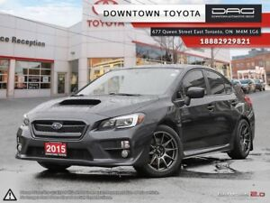 2015 Subaru WRX AWD,SPORT TECK, LEATHER, SUNROOF, NAVI