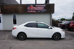 2015 Toyota Corolla S FULL ÉQUIPÉ CUIR/TOIT/MAGS SEULEMENT 46 60