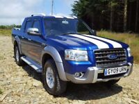 2009 Ford )YouTube Video) Ranger Double-Cab Wildtrak 3.0TDCi, New MOT, History, Leather, Low Mileage
