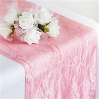 Tablecloths, Table runners, Chair Covers and Sashes for RENT