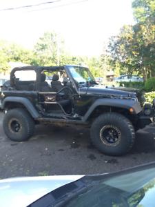 2011 Jeep Wrangler Rubicon de trail