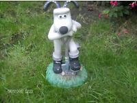 wallace and gromit garden ornaments
