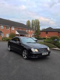 Mercedes Clk cdi v6 semi automatic