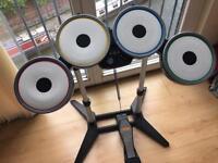 Rockband Wireless Drumkit for Xbox 360