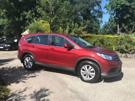 2013 Honda CR-V 1.6 DTEC - One Owner From New - Full Honda His - FINANCE AVAILABLE - 2 KEYS