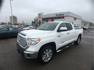 2016 Toyota Tundra Limited 5.7L V8 CrewMax w/ 4WD, Navi, Leather