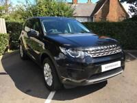 Land Rover Discovery Sport TD4 SE (black) 2016-10-31