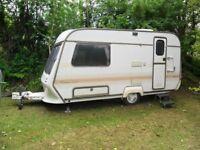 Well-maintained 2 berth Coachman VIP Caravan
