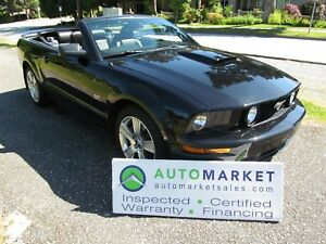 2007 Ford Mustang GT, 6sp, Like New, Insp, Warr