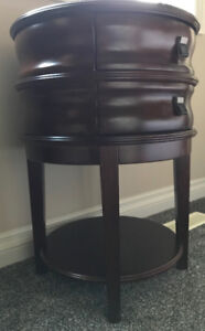 Drum Side Table from Bombay Co.