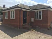 2 bed new build bungalow for rent £650 Per month