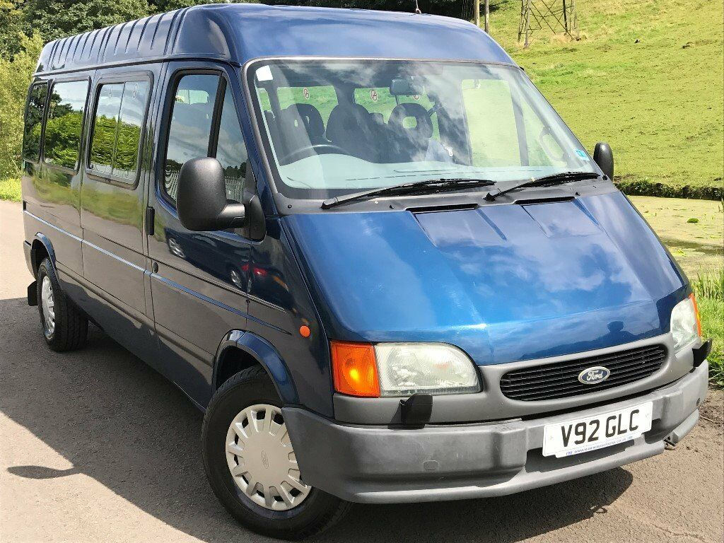 1999 ford transit 2 5 turbo diesel 15 seater automatic. Black Bedroom Furniture Sets. Home Design Ideas