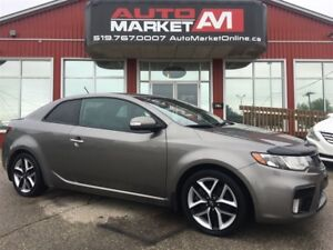 2010 Kia Forte Koup 2.4L SX, Sunroof, Leather, WE APPROVE ALL CR