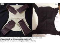 2 x Baby carriers