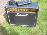 Marshall JVM215C All Valve Combo Amplifier & Footswitch.