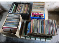 4 boxes of vinyl records... £10 per box or £30 for all 4