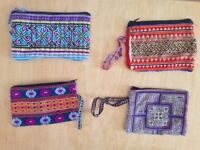 Embroidered ethnic small pouches