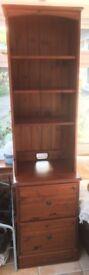Ducal Narrow Dark Pine Dresser