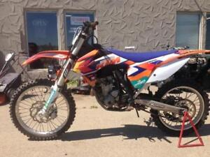 KTM 250 SX-F DIRTBIKE, ELECTRIC START, 4 STROKE, EXC CONDITION