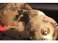 Meinl Sound Caster Custom cymbal set