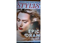 Kate Winslet Cover Stylist Magazine With 4 Page Interview