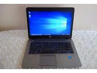 RRP £1465 16GB RAM HP EliteBook 840 G2 i7 14 Inches, 256GB SSD Windows 10, Warranty