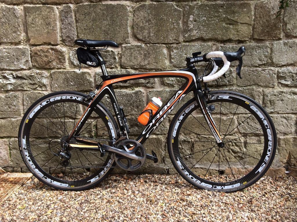 Orbea Orca Carbon Road Bike 55cm Shimano Dura Ace Mavic Cosmic