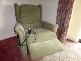 Electric riser and recliner chair Relaxor Ultra