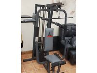 Multigym and weight bench