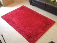Next red rug 170x120cm, good condition