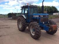 Ford 7710 4x4 tractor