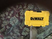Dewalt impact screwdring set