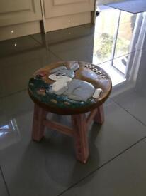 Child foot stool