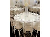 *** chiavari chairs to HIRE!!! £2.15 each (incl. VAT)***