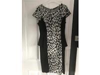 Leopard print George dress size 14