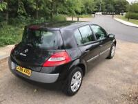 RENAULT MEGANE 1.6 2006 ONLY DONE 55k LONG MOT. DRIVES THE BEST