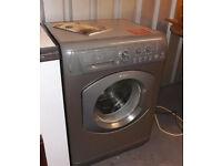 Hotpoint Aquarius WML 540 Silver 6KG Drum Eco Tech Automatic Washing Machine Free Standing