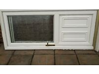UPVC BACK DOOR AND FRAME
