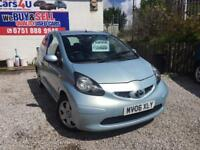 06 TOYOTA AYGO VVTI 1.0 PETROL IN BLUE *PX WELCOME* MOT TILL NOVEMBER 2017 £1495